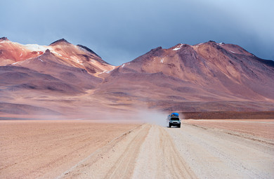On the road, Bolivia