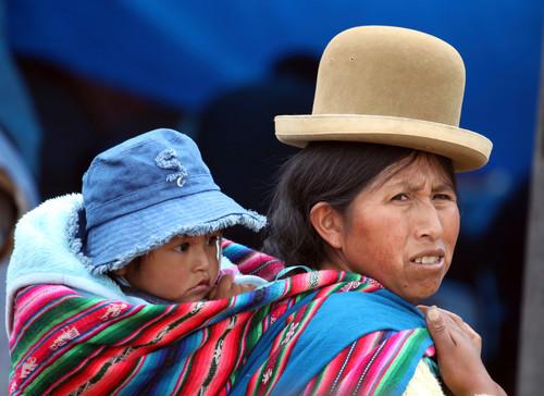 Famiglia Boliviana