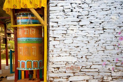 Ruota di preghiera, Punakha