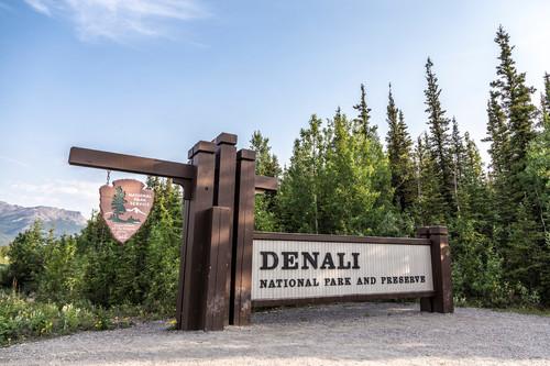 Gate Denali National Park