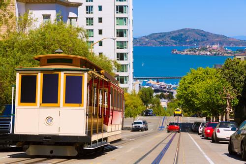 San Francisco con Alcatraz