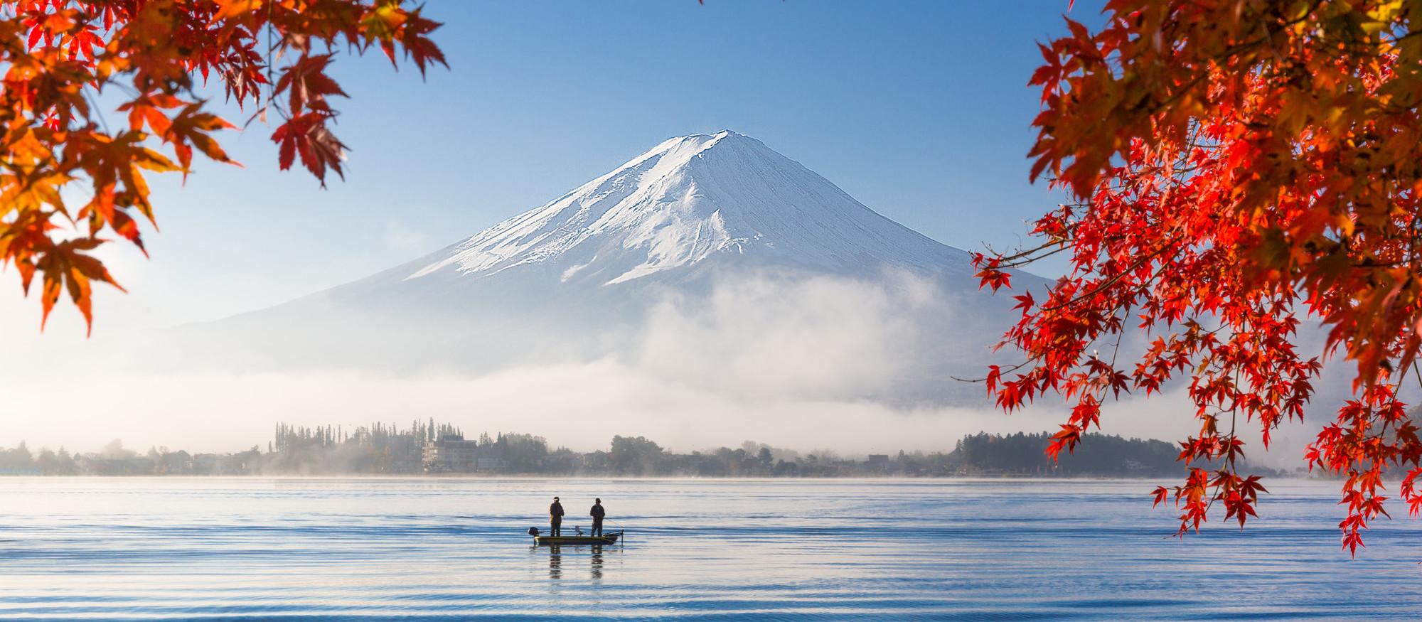 Monte Fuji per apertura Tokyo e Kyoto