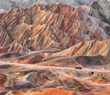 Zhangye - Montagne colorate