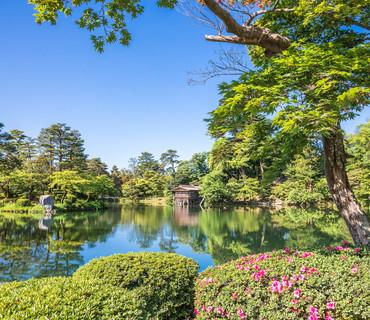 Kanazawa_Kenrokuen Garden