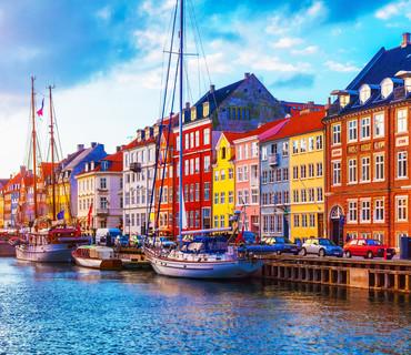 Danimarca Copenhagen canali